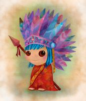 LITTLE INDIAN by isrobriones