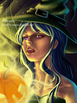 Happy Halloween by aungor