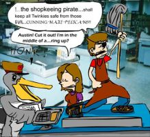 Shopkeeping Pirates by KantQontrolMyself