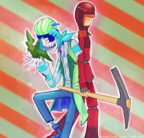 CoN: trickster mode by DragonClaudz
