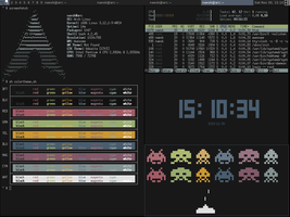 Archlinux Awesome-WM Scrot by naesk