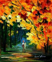 Afremov NATURE Original Art Oi by Leonidafremov
