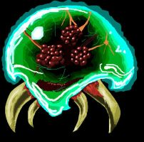 Metroid Drawing by Alpha-wolf25