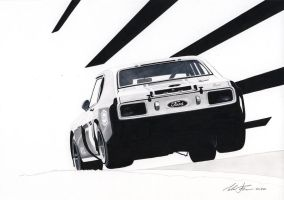 Ford Capri RS 3000 by klem