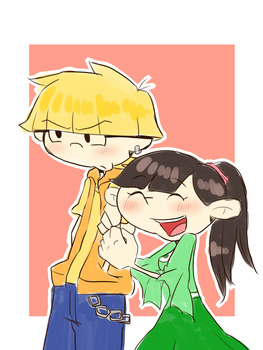 Teens wally and kuki by Rumi123