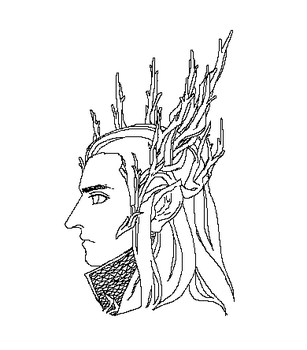 Mouse_sketch_Thranduil by ROSAITA