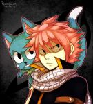 Natsu and Happy - Watch Out by Renciel