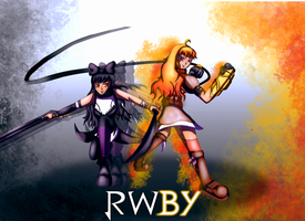 RWBY Black and Yellow by ChronoPinoyX
