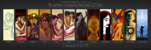2014 Summary of Art by magicalavatarian