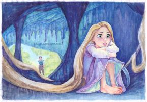 Rapunzel getting depressed by B-AGT