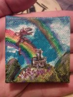 Double Rainbow Dragon by BrittniWoods