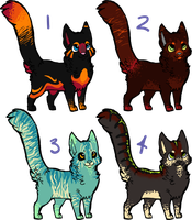 Kitty Adopts Batch!  CLOSEDDD by FelineAdoptables