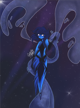 Lapis Has Leveled up (COTM contest entry) by Ribbonthecat