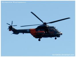 AS332 Super Puma helicopter by Kevrekidis
