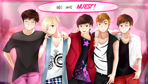 We are NUEST by marina094