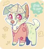 Offer To Adopt - Vintage Doggie (closed) by Fayven
