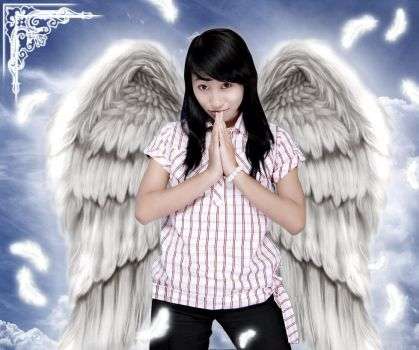 Angel of Heaven by puzzleinc