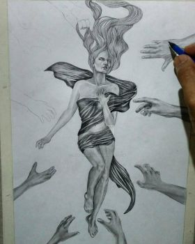 Concept Drawing on process by Mohit Kumar Rao by mohitkumarrao