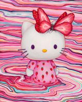 Kitty Berry Kiss Kiss by camilladerrico