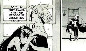 Tatsumi and Akame The Pain Over Sheele's Death by weissdrum