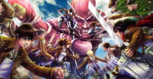 Attack On Titan by TyrineCarver