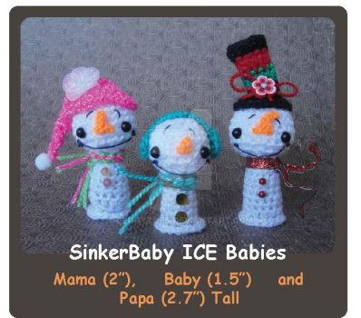 Peggytoes Sinker Baby ICE Baby Crochet Pattern by peggytoes