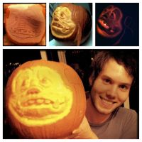 Ludo Pumpkin 2012 by JamesPendleton