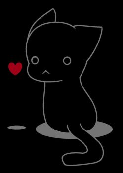 Lonely Cat by totaltomboy6236
