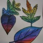 Water Colour leaves by DoubleGstar