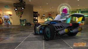 ModNation Racers AirWave Runner back view by Blucaracal