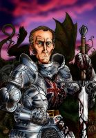 Sir Peter -Slayer of Evils by Loneanimator