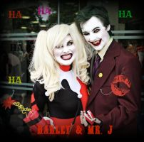 Harley and Mistah J by Jordee11