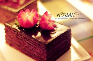 Chocolate Cake by Nollyan