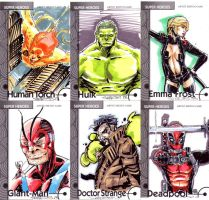 Fleer Retro sketch cards 2 by CRISTIAN-SANTOS