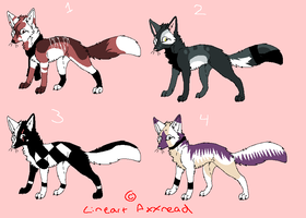 Fox adoptables OPEN by V1KA