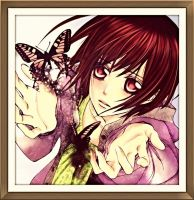 yuki with her butterflies by laila549