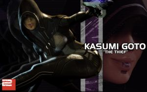 ME2 Kasumi Wallpaper by triggerhappy039