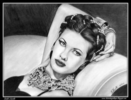 Yvonne De Carlo by iSaBeL-MR