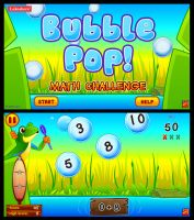 Bubble Pop! Lakeshore Educational Game by Kata