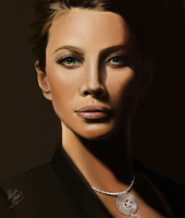 Photo Realism Practice - Louis Vuitton Jewelry Ad by LightSilverstar