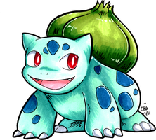 Student Bulbasaur by raizy