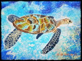 Sea turtle by tong669982