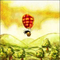 Ballon Trip- Ayandora by childrensillustrator