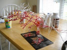 Twist Tie Dragon, Fifth Round, View 1 by RC-Iname