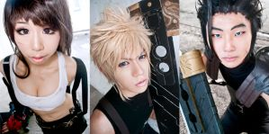Collage: Final Fantasy VII by Tempura-Sushi