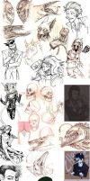 2011 Sketchdump by Raven-Blood-13