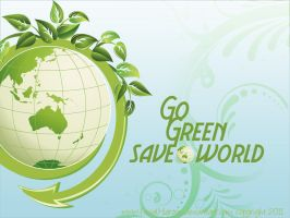 GO green by Faisalharoon