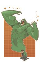 Incredible Hulk by mendigo-amigo