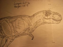 Dino Crisis 2  T-Rex by ACdraw
