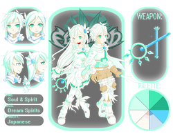 Soul and Spirit Character Sheet by Sol-An